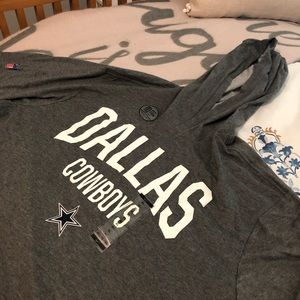 Dallas Cowboys Short Sleeve Hoodie